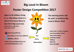 Big Local in Bloom Poster Competition 2017
